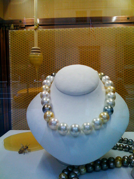 Buy pearls for your honey