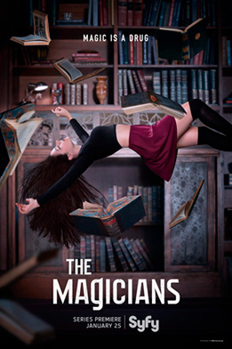 Syfy The Magicians tv show poster