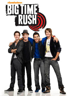 Big Time Rush TV show poster