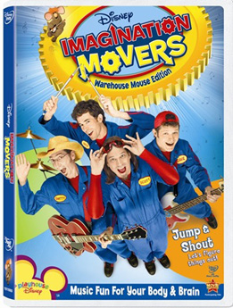Disney's' Imagination Movers poster