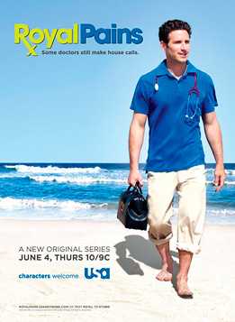 Royal Pains TV show poster